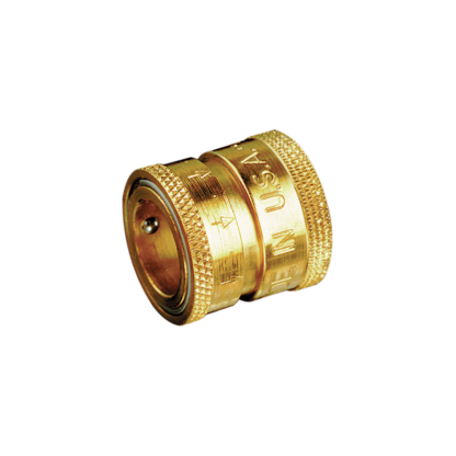 Dramm Brass Quick Disconnect Water Stop Female 742