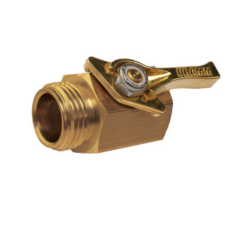 Dramm Brass Shut Off Valve 73300