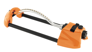Dramm Orange ColorStorm Oscillating Sprinkler 15002 ColorStorm Sprinklers