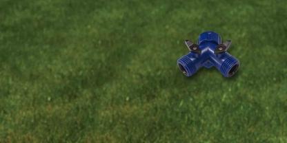 Dramm Twin Plastic Shut Off Valve