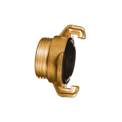 """#775 Male Brass Twisty Quick ¾"""" Hose Connector"""