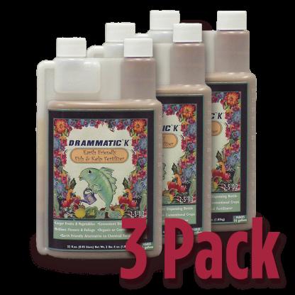 Drammatic Organic Fertilizer Quart 3-Pack