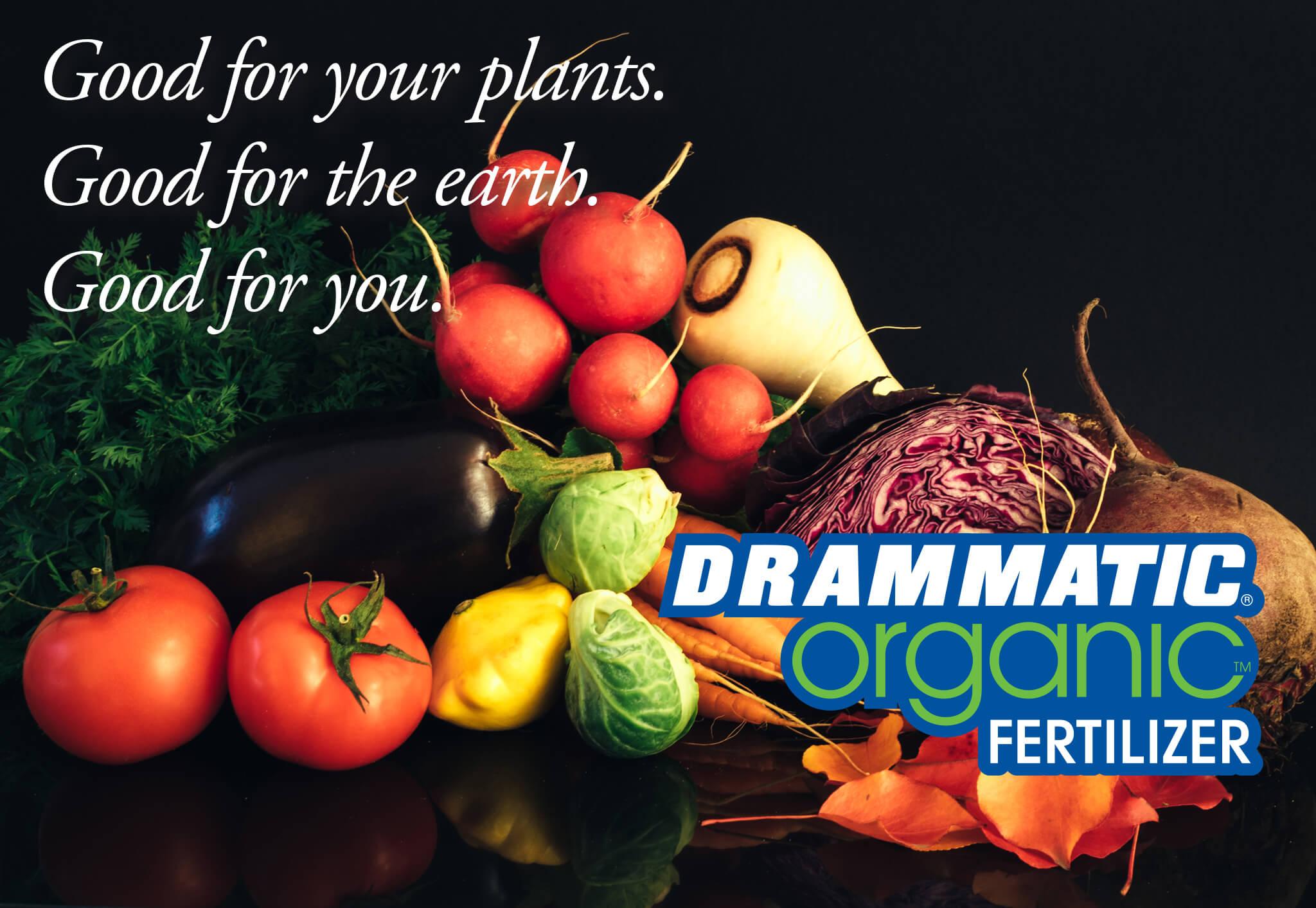 Good for you. A premium fertilizer for organic crops.