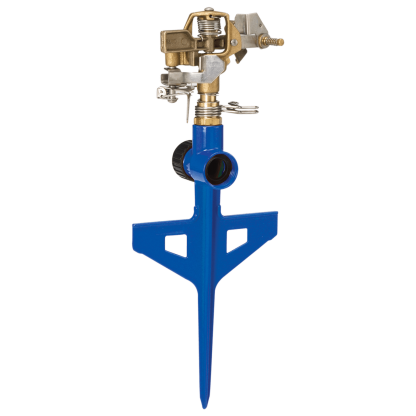 Dramm Blue ColorStorm Stake Impulse Sprinkler 15065