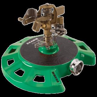 Dramm Green ColorStorm Circular Base Impulse Sprinkler 15084