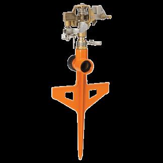 Dramm Orange ColorStorm Stake Impulse Sprinkler 15062