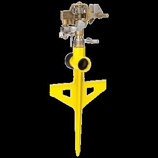 Dramm Yellow ColorStorm Stake Impulse Sprinkler 15063