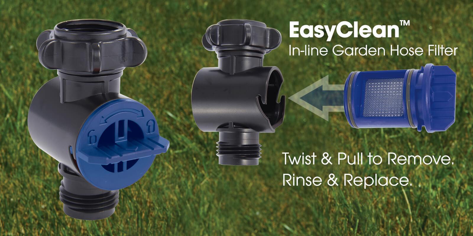 Dramm EasyClean Inline Garden Hose Filter