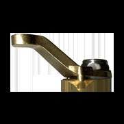 Raised Handle for #300 Brass Shut-Off